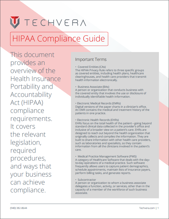 HIPAA Compliance Guide