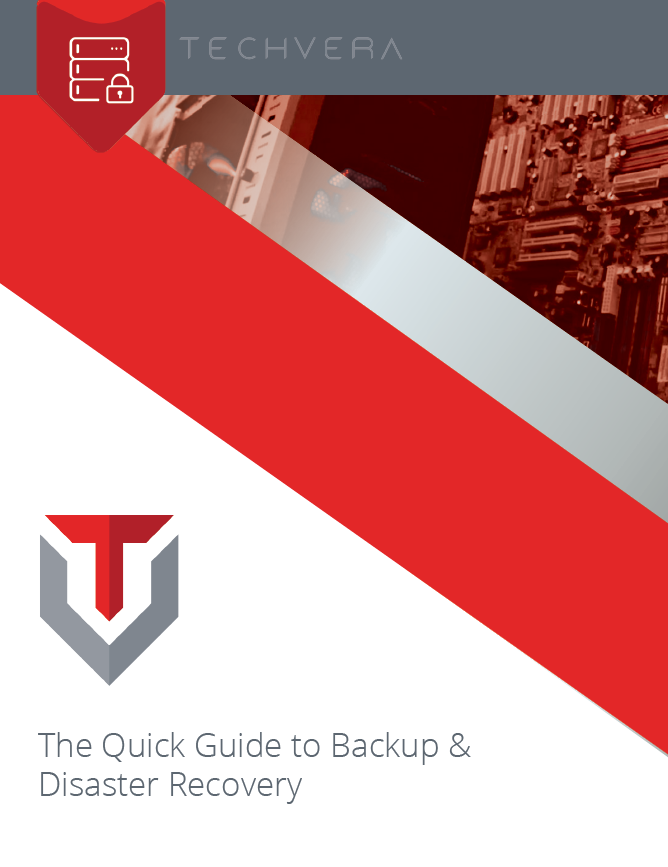 Quick Guide to Backup and Disaster Recovery